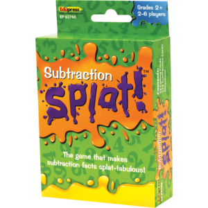 TCR63760 Math Splat Game: Subtraction Image