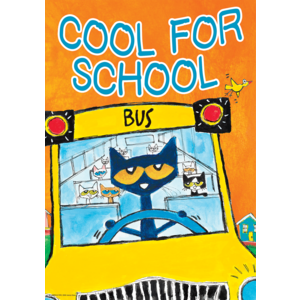 TCR63931 Pete the Cat Cool For School Positive Poster Image