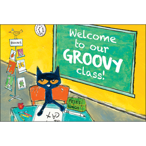 TCR63934 Pete the Cat Welcome To Our Groovy Class Postcards Image