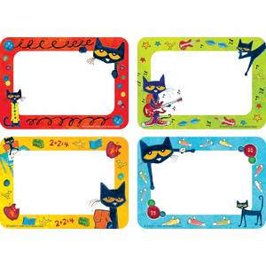 TCR63939 Pete the Cat Name Tags/Labels - Multi-Pack Image