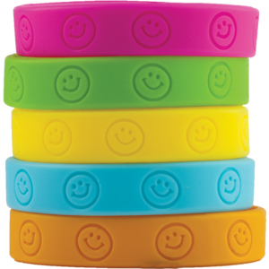 TCR6550 Happy Faces Wristbands Image