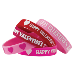 TCR6564 Happy Valentine's Day Wristbands Image