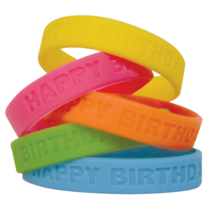 TCR6574 Happy Birthday 2 Wristbands Image