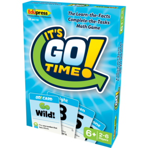 TCR66110 It's GO Time!  Card Game Image