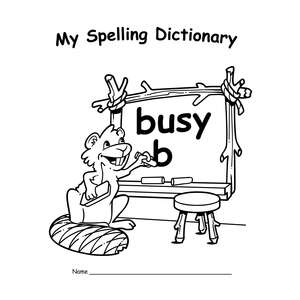 TCR66806 My Own Spelling Dictionary Book 25-Pack Image