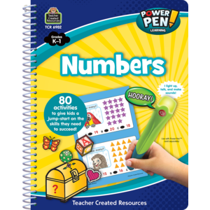 TCR6982 Power Pen Learning Book: Numbers Image