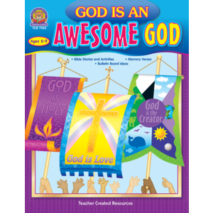 TCR7105 God is an Awesome God Image