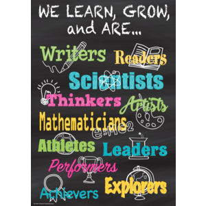 TCR7404 We Learn, Grow, and Are...Positive Poster Image