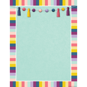 TCR7448 Oh Happy Day Blank Chart Image