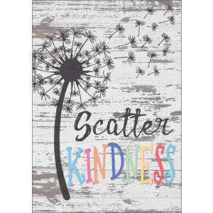 TCR7500 Scatter Kindness Positive Poster Image