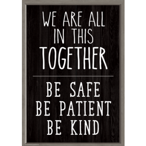 TCR7512 We Are All in This Together Positive Poster Image