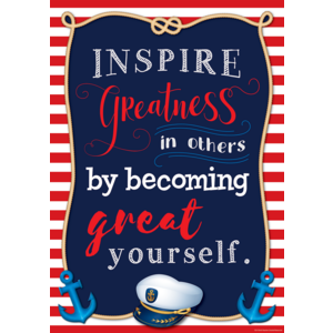 TCR7516 Inspire Greatness in Others by Becoming Great Yourself Positive Poster Image