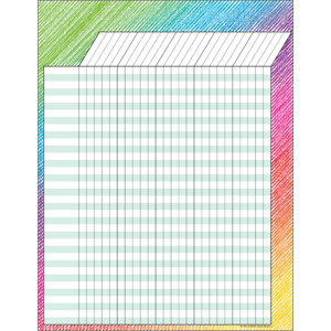 TCR7526 Colorful Scribble Incentive Chart Image