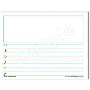 TCR76511 Smart Start K-1 Story Paper: 100 Sheets Image