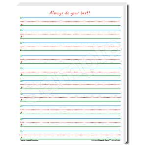 TCR76531 Smart Start 1-2 Writing Paper: 100 Sheets Image