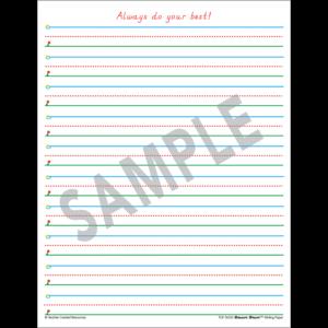 TCR76533 Smart Start 1-2 Writing Paper: 360 Sheets Image