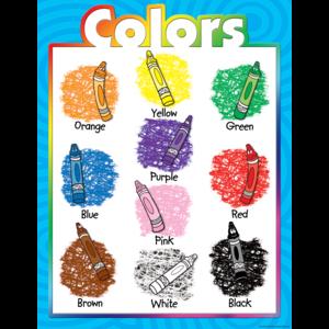 TCR7685 Colors Chart Image