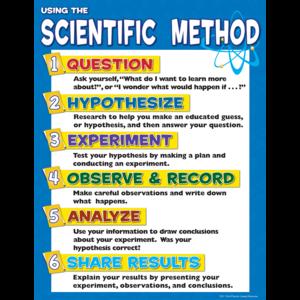 TCR7704 Scientific Method Chart Image