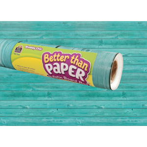 TCR77041 Shabby Chic Wood Better Than Paper Bulletin Board Roll Image