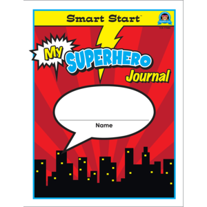 TCR77080 Superhero Smart Start 1-2 Journal Image
