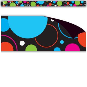 TCR77129 Circle Frenzy Magnetic Border Image