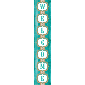 TCR77197 Shabby Chic Welcome Banner Image