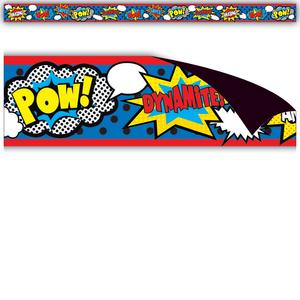 TCR77223 Superhero Magnetic Strips Image