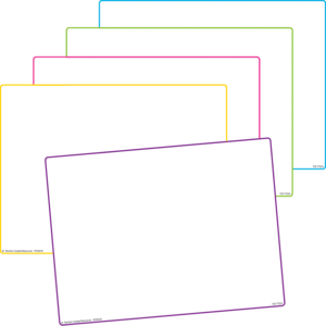 TCR77254 Blank Dry Erase Boards (set of 10) Image