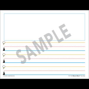 TCR77269 Superhero Smart Start K-1 Story Paper: 100 Sheets Image