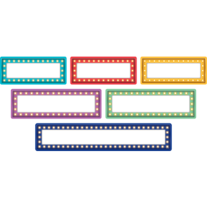 TCR77330 Clingy Thingies Marquee Labels Image