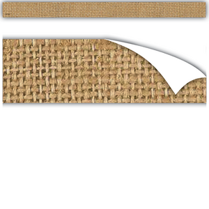 TCR77336 Clingy Thingies Burlap Strips Image