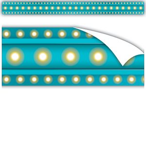 TCR77341 Clingy Thingies Light Blue Marquee Straight Borders Image