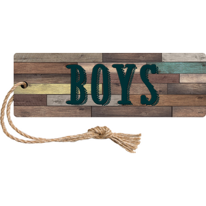 TCR77358 Home Sweet Classroom Magnetic Boys Pass Image