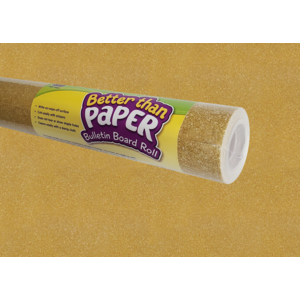 TCR77364 Gold Shimmer Better Than Paper Bulletin Board Roll Image
