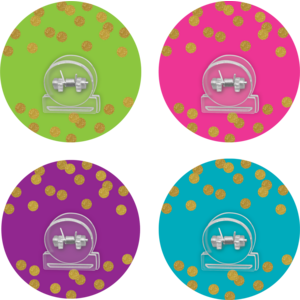 TCR77374 Clingy Thingies Confetti Clips Image