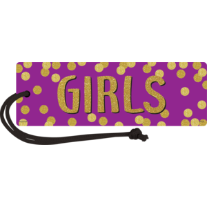TCR77396 Confetti Magnetic Girls Pass Image