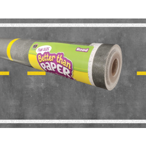 TCR77445 Fun Size Road Better Than Paper Bulletin Board Roll Image