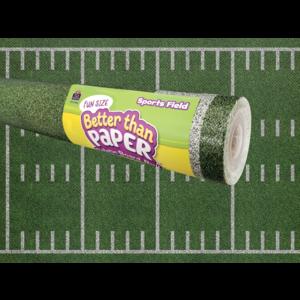 TCR77446 Fun Size Sports Field Better Than Paper Bulletin Board Roll Image