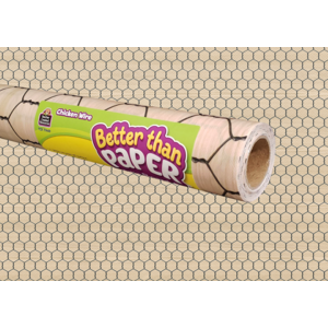TCR77449 Chicken Wire Better Than Paper Bulletin Board Roll Image