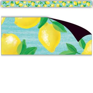 TCR77455 Lemon Zest Magnetic Border Image