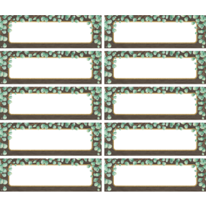 TCR77483 Eucalyptus Labels Magnetic Accents Image