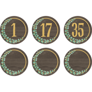 TCR77484 Eucalyptus Numbers Magnetic Accents Image