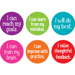 "TCR77507 Spot On Carpet Markers Growth Mindset - 7"" Image"