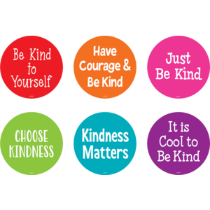 """TCR77510 Spot On Floor Markers Kindness - 4"""" Image"""