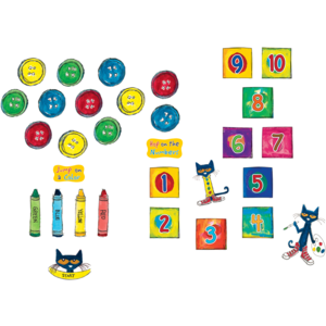 TCR77541 Pete the Cat Numbers and Colors Sensory Path Image