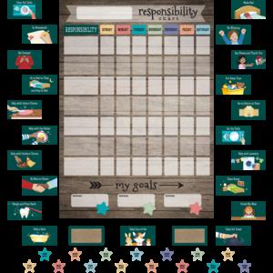 TCR77876 Clingy Thingies: Responsibility Chart Image