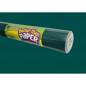 TCR77893 Hunter Green Painted Wood Better Than Paper Bulletin Board Roll Image