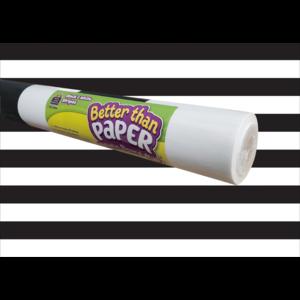 TCR77894 Black & White Stripes Better Than Paper Bulletin Board Roll Image