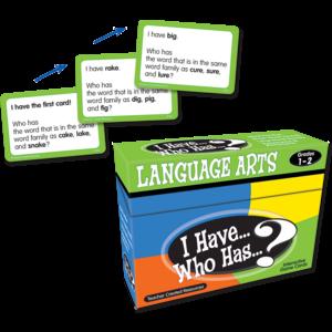 TCR7815 I Have, Who Has Language Arts Game Grade 1-2 Image