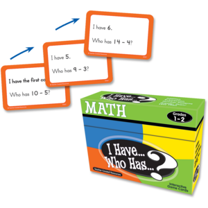 TCR7817 I Have, Who Has Math Game Grade 1-2 Image